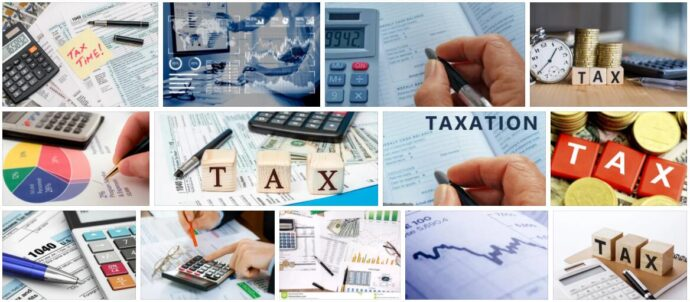 Target and Actual Taxation